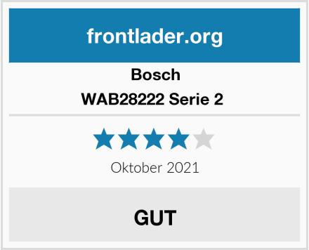 Bosch WAB28222 Serie 2  Test