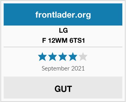 LG F 12WM 6TS1 Test