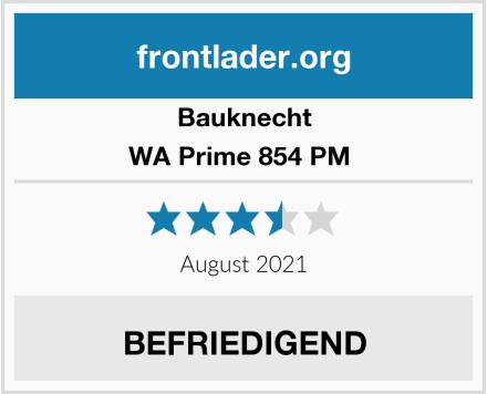Bauknecht WA Prime 854 PM  Test