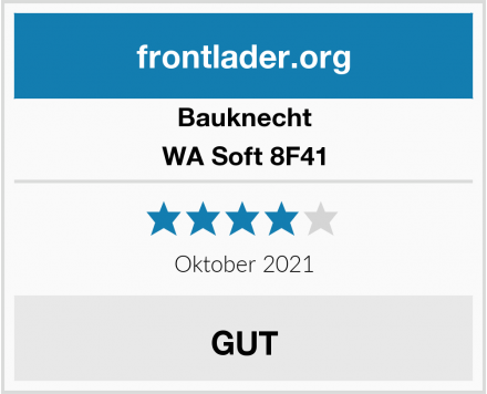 Bauknecht WA Soft 8F41 Test