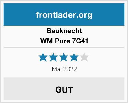 Bauknecht WM Pure 7G41 Test