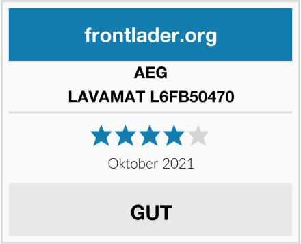 AEG LAVAMAT L6FB50470 Test