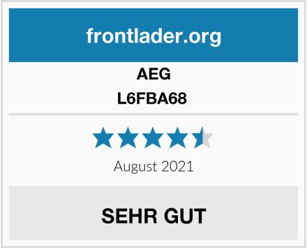 AEG L6FBA68  Test