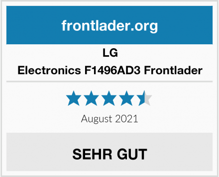 LG Electronics F1496AD3 Frontlader Test