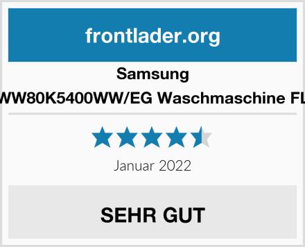 Samsung WW80K5400WW/EG Waschmaschine FL Test