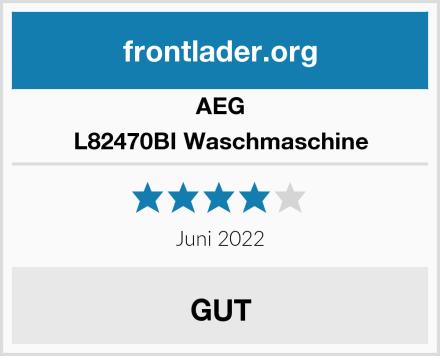 AEG L82470BI Waschmaschine Test