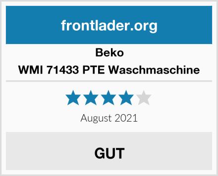 Beko WMI 71433 PTE Waschmaschine Test