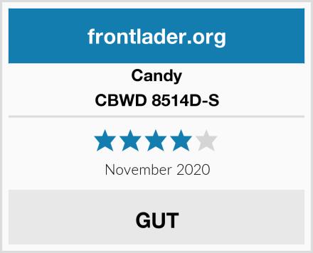 Candy CBWD 8514D-S Test