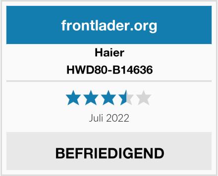 Haier HWD80-B14636 Test